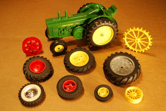 custom toy tires